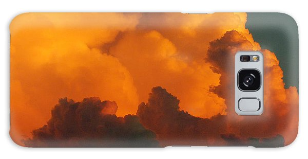 Sunset Clouds Galaxy Case