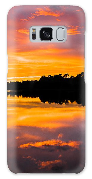 Sunset Colors Galaxy Case