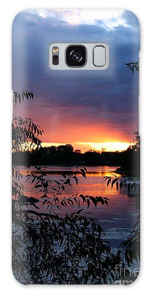 Sunset Cove Galaxy Case