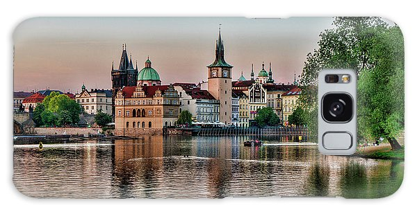 Sunset Cruise Prague Galaxy Case