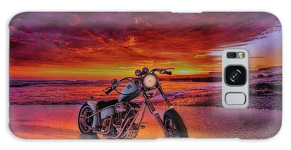 sunset Custom Chopper Galaxy Case