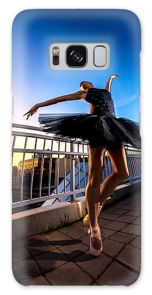 Sunset Dancer Galaxy Case