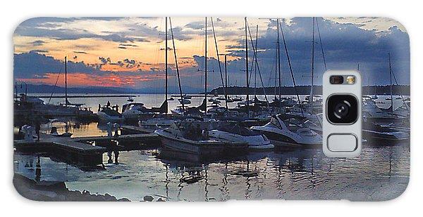 Sunset Dock Galaxy Case by Felipe Adan Lerma