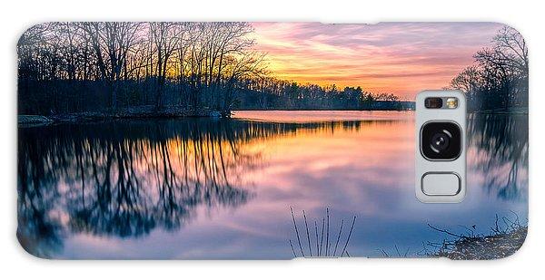Sunset-dorothy Pond Galaxy Case