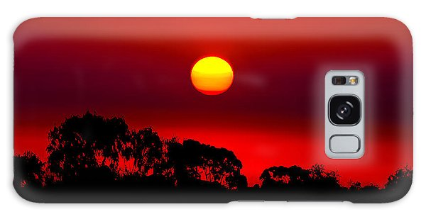 Sunset Dreaming Galaxy Case