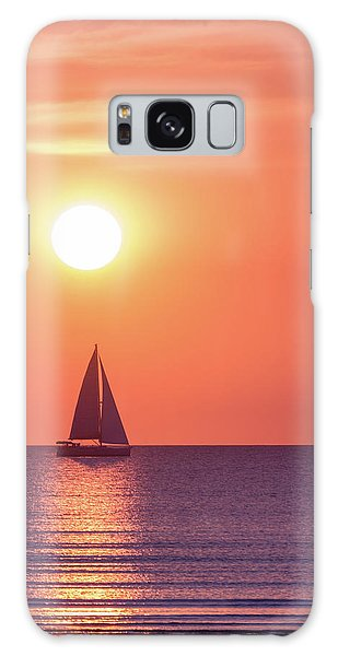 Sunset Dreams Galaxy Case