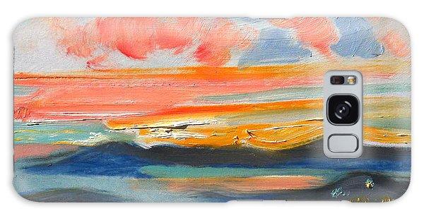 Sunset El Cerrito Ca Galaxy Case