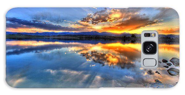 Sunset Explosion Galaxy Case by Scott Mahon