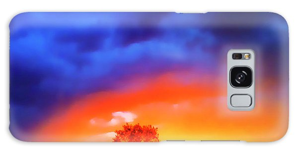 Sunset Extraordinaire Galaxy Case