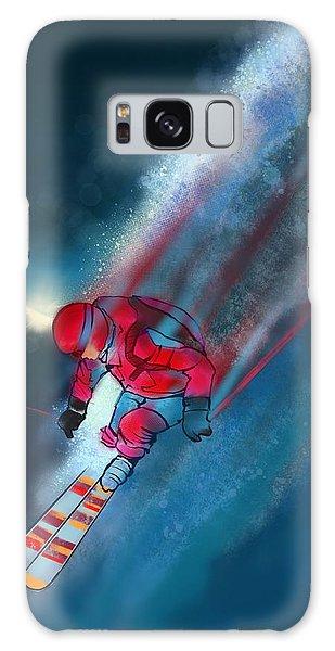 Sunset Extreme Ski Galaxy Case