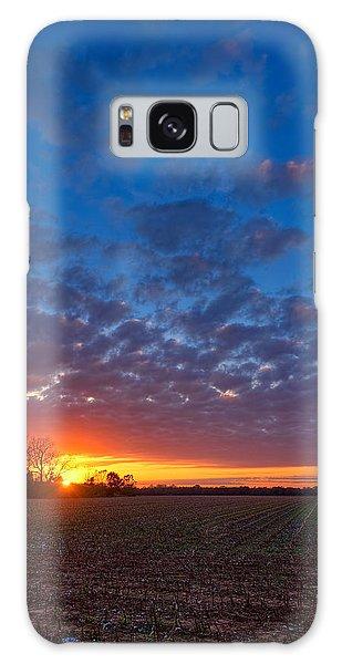 Sunset Field Galaxy Case