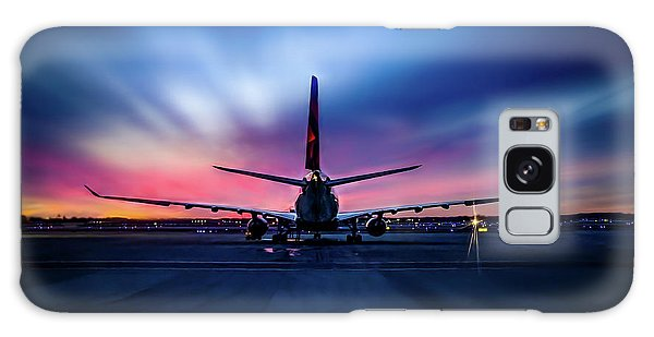 Sunset Flight Galaxy Case