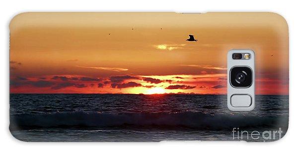 Sunset Flight Galaxy Case by Nicki McManus