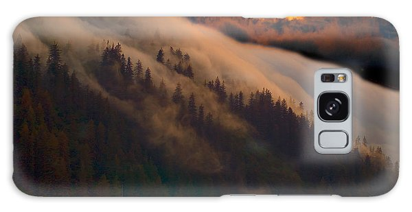 Sunset Fog Galaxy Case