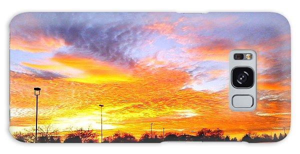 Sunset Forecast Galaxy Case