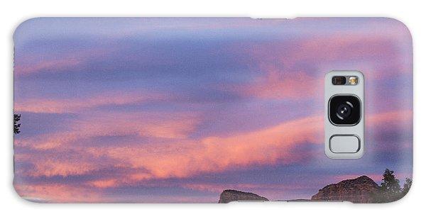 Sunset From Bell Rock Trail Galaxy Case by Laura Pratt
