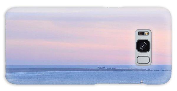 Sunset From Irish Beach Galaxy Case