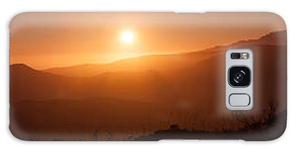 Sunset From Marine Headlands San Francisco Galaxy Case