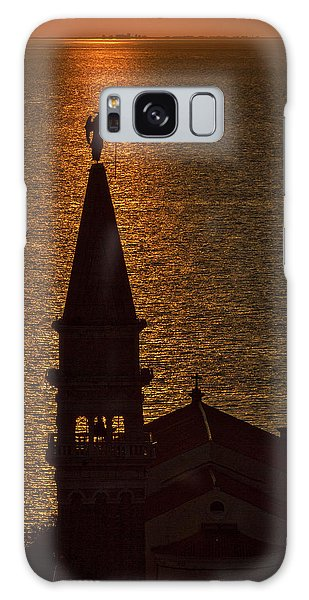 Galaxy Case featuring the photograph Sunset From The Walls #2 - Piran Slovenia by Stuart Litoff