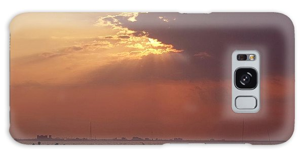 Sunset Gathering Galaxy Case