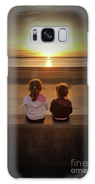 Sunset Sisters Galaxy Case