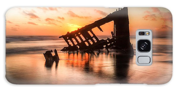 Peter Iredale Galaxy Case - Sunset Glow 0016 by Kristina Rinell