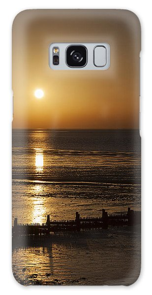 Sunset Hunstanton Galaxy Case