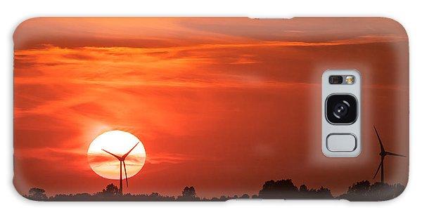 Sunset Husum Galaxy Case