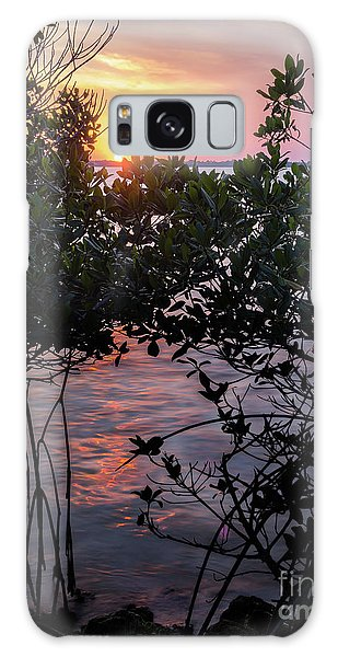 Sunset, Hutchinson Island, Florida  -29188-29191 Galaxy Case