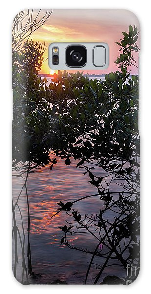Sunset, Hutchinson Island, Florida  -29188-29191 Galaxy Case by John Bald