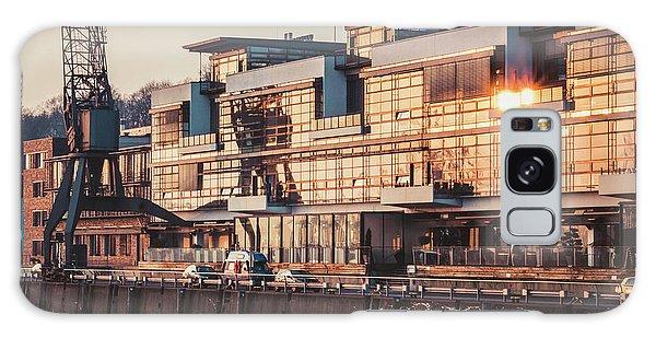 Sunset In Altona Hamburg Galaxy Case