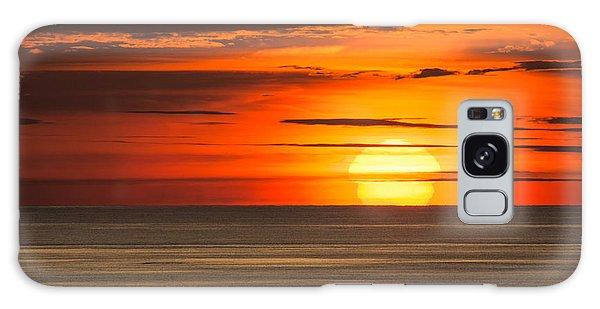 Sunset In Bermuda Galaxy Case