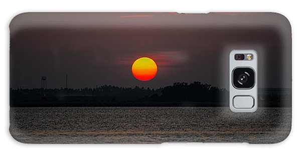 Sunset In Biloxi Galaxy Case