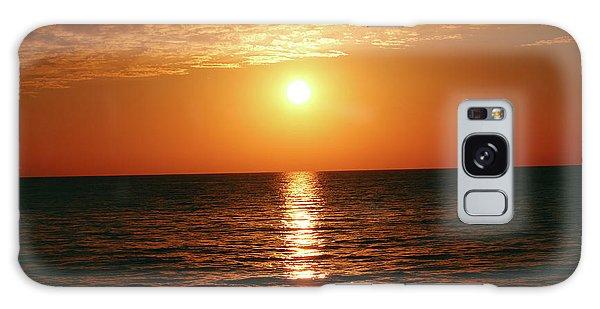 Sunset In Bimini Galaxy Case