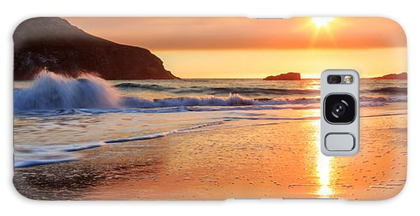 Galaxy Case featuring the photograph Sunset In Brookings by James Eddy