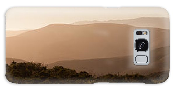 Sunset In California Galaxy Case
