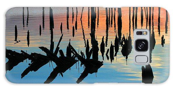 Sunset In Colonial Beach Virginia Galaxy Case