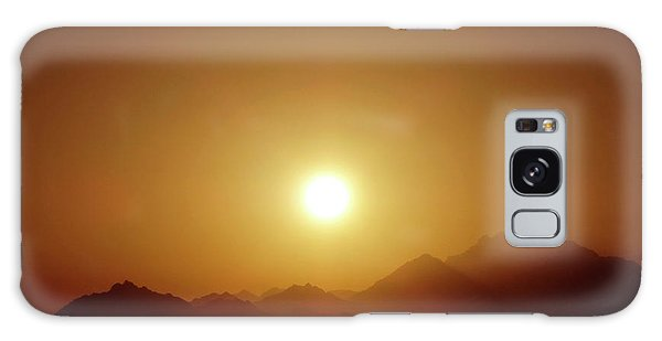 Sunset In Egypt 7 Galaxy Case