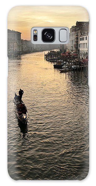 Missiaja Galaxy Case - Sunset In Grand Canal by Marco Missiaja