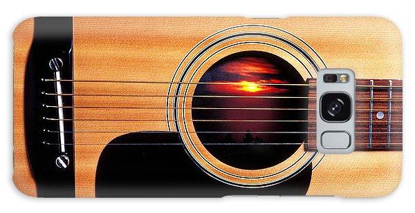 Sunset In Guitar Galaxy Case