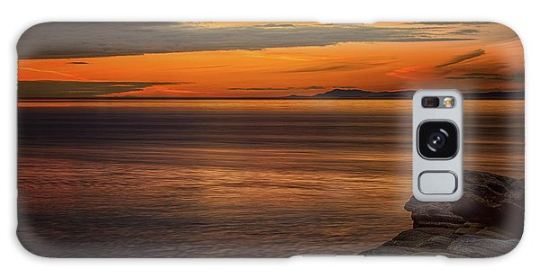 Sunset In May Galaxy Case by Randy Hall