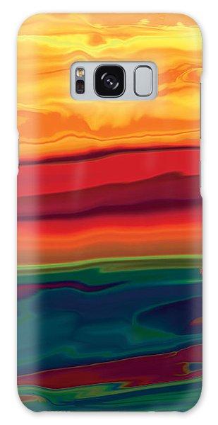 Sunset In Ottawa Valley 1 Galaxy Case by Rabi Khan