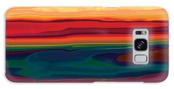 Sunset In Ottawa Valley Galaxy Case by Rabi Khan