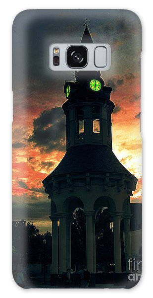 Sunset In Red Bluff Galaxy Case by Irina Hays