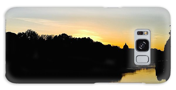 Sunset In Rome Galaxy Case