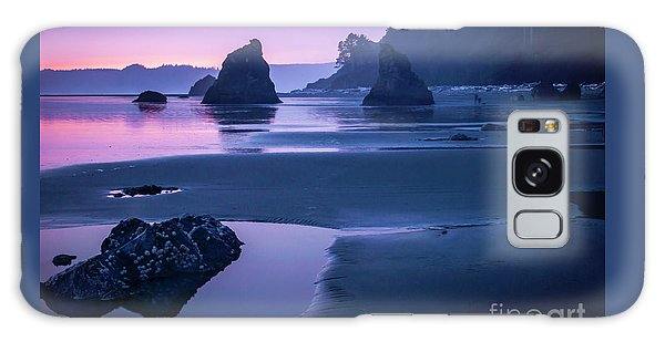 Sunset In Ruby Beach Galaxy Case