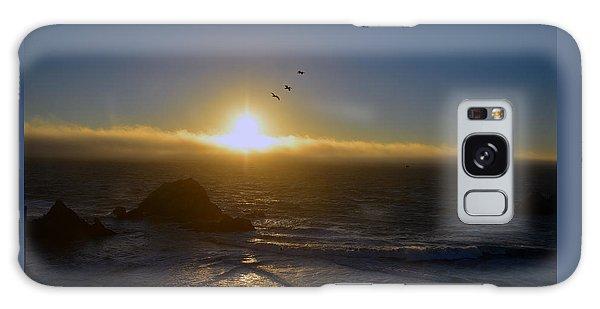 Sunset In San Francisco Galaxy Case