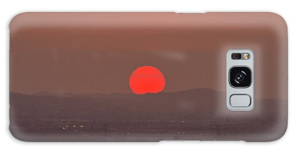 Sunset In Smog Galaxy Case