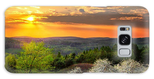 Sunset In Tioga County Pa Galaxy Case