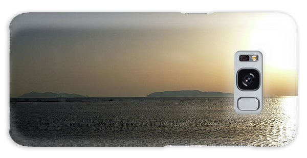 Sunset In Trapani Galaxy Case
